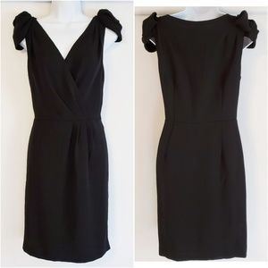LOFT Black Dress Size 8